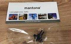 Montana 1/4 Zoll Gewinde-Adapter für GoPro