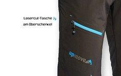 Trailscout Bike Shorts MTB Upmove Edition Gr. M 50 - 4 Weg Stretch