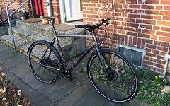 Bicycles Urban Rad, Neu! (Gates Riemen, Alfine 11s, Renthal, Tubus), 60 cm