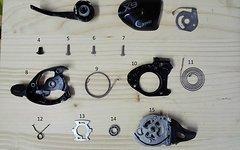 SRAM X9 Einzelteile/Ersatzteile