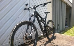 Specialized ENDURO COMP 650B 27,5 - 2016, Large, Satin Black - Charcoal Clean // TOP ZUSTAND!