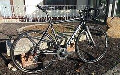 Stevens Vapor Alu/Carbon, 56cm, Cyclocross, komplett Ultegra Hydraulisch 11 Fach, Vollcarbongabel etc. Top Zustand !