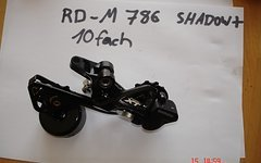 Shimano XT   RD-M 786  SGS  direct mount oder normal    10 FACH SHADOW  + TOP
