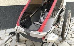 Chariot Cougar 1 inkl Buggyset und Fahrradkupplung