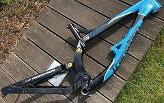 Transition Bikes TR450 Rahmen schwarz/blau M