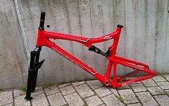 "Santa Cruz Blur XC Carbon Größe L 26"" Modell 2011"