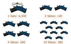 Trickstuff Bremsbeläge Cleg4, Grimeca System8, Hope Mono4, ShimanoXT (TS 220 S) mit Preisstaffelung