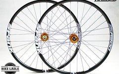 """Spank Oozy Trail EVO 295 Laufradsatz mit Hope Pro 4 26"""" / 27,5"""" Alle Einbaumasse **1780 g**"""