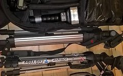 Nikon D 80 mit viel Zubehör Funkblitze, elinchrom, Tamron, Tamrac