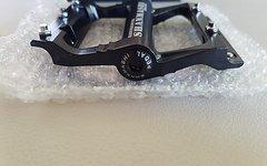 Cyconsult® Aluminium Flat Pin Pedale *schwarz*