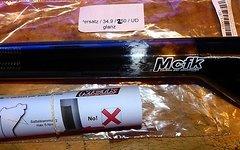 Mcfk Sattelstütze 34,9x250 UD Carbon Versatz glanz ähnlich Schmolke AX Lightness
