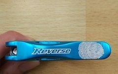 Reverse Components Long Life Sattelklemme 34,9 mm hellblau