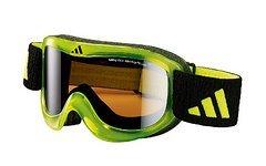 Adidas Pinner Lime Shiny Black Goggle a183/50 NEU & OVP