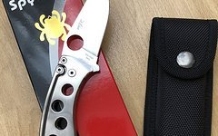 Spyderco Pits Titan Messer Folder Slip Joint