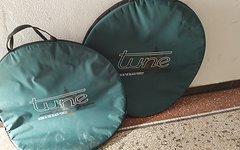 Tune Baggy Laufradtasche // 2x verfügbar // Schwarz-grün // leicht