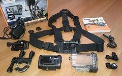 Rollei Actioncam S-30 WiFi incl. Chestmount + Zubehör