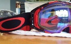 Oakley Airbrake Goggle Snow NEU Rot / Schwarz mit zweitem Glas