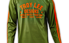 "Troy Lee Designs SUPER RETRO JERSEY ""Gr. M"" ARMY GREEN"