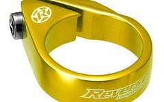 Reverse Components Sattelschelle Bolt Clamp Ø 34.9mm Gold Seatclamp, Bolt Clamp, 26g
