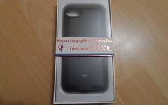 "Apple iPhone 7 6s 6 4,7"" Qi Ladehülle 3000mAh Wireless"