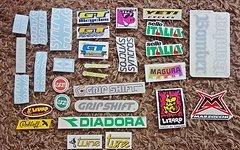 Retro / Classic Bikes Sticker-Set ..... Syncros, Tune, GT, GripShift ......