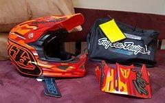 Troy Lee Designs Helm Code Orange, Gr. M *neu!