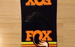 Fox Heritage FLOAT X Airsleeve Sticker orange