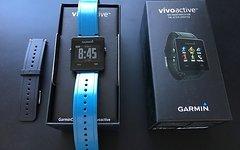Garmin Vivoactive Smartwatch Gps mit 2 Armbändern