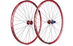 Radsporttechnik Müller Laufradsatz Tune King Kong (rot) Spank Oozy Trail 295 CX Ray 1701g