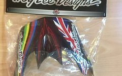 Troy Lee Designs D3 Ersatzvisier Steve Peat *NEU*