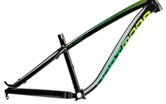 Dartmoor Hornet 650B Rahmen 2018, schwarz/ grün, Größe M