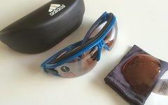 Adidas Evil Eye Halfrim Brille NEU Blau S