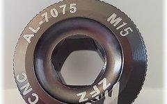 Aluminium Kurbelschraube M15 *titan-farben*