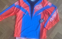 Troy Lee Designs GP Air Jersey Gr.L Mirage Blue/Orange