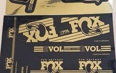 Fox Decal Kit Gold 2016 Uni