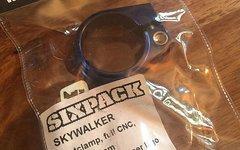 Sixpack Sattelklemme Skywalker (31.8mm) Blau
