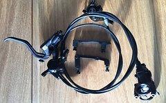 Magura MT 6 Scheibenbremsen Set inkl neuen 180mm Bremsscheiben