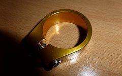 Sattelklemme 34,9mm gold