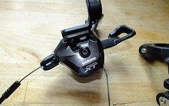 Shimano XT 8000 2fach Schalthebel + Umwerfer