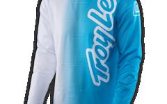 Troy Lee Designs GP AIR JERSEY 50/50 WHITE/BLUE 2017