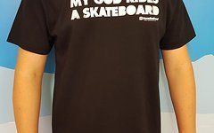 "Horse Feathers ""My God Rids a Skateboard"" Shirt Gr. S"