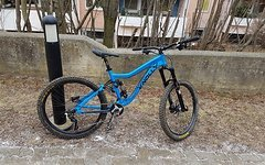 Knolly Endorphin blau M Komplettrad / gratis Versand