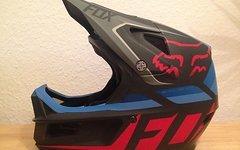 Fox Rampage Pro Carbon Seca Helm, M, (57-58cm),fast NEU! Nur 5 x getragen