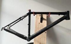 """Cannondale Taurine L 47,5cm 48cm Rahmen 26"""" Carbon Hardtail MTB"""
