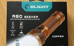 Olight R50 CU Kupfer Seeker Taschenlampe 2500 Lumens