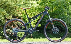 Scott Genius 710 - 2015 - Fox - Shimano XT