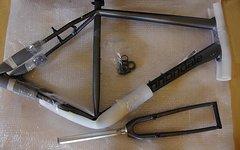 Cannondale Quick CAAD Rahmenset mit Carbongabel Größe XL (Rahmen, Carbongabel, Gabel) geeignet für den Aufbau von Trekkingrad, Urbanbike oder Fitnessbike