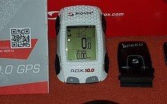 Sigma Rox 10.0 ANT / GPS SET/ WEISS inkl. Sigma Buttler Halterung