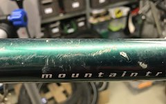 Trek 820 Rahmen & Gabel Stahl