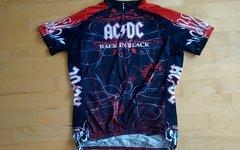 Primal Wear Trikot ACDC Back in Black  Gr.L